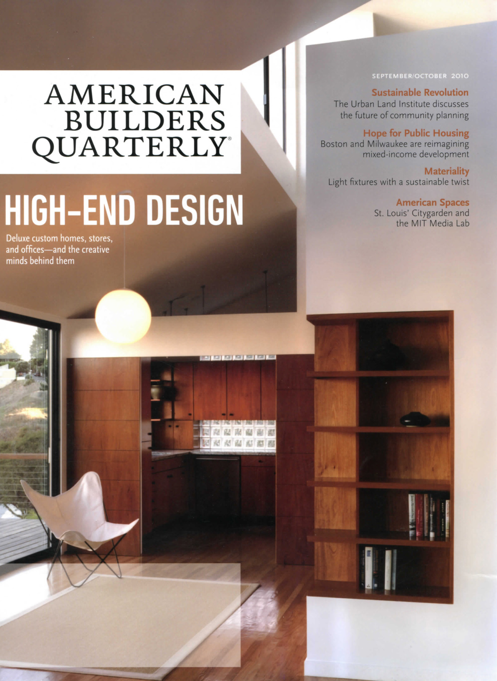 Fogarty finger american builders quarterly for American builders